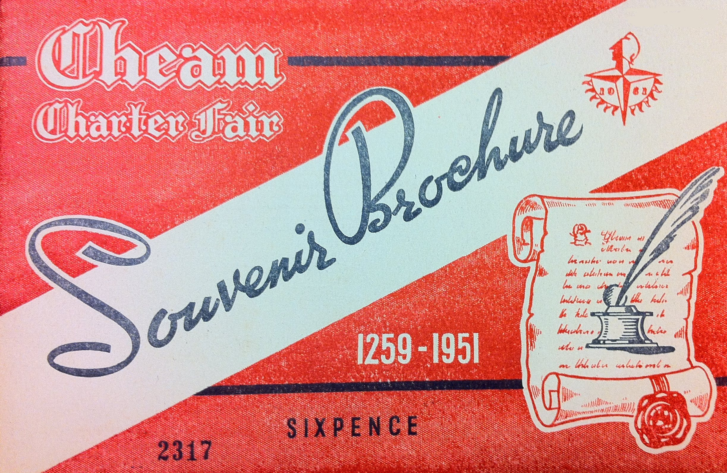 Cheam Charter Fair Souvenir Brochure 1951 cover