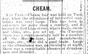 Sutton and Epsom Advertiser 18.5.1906 (Sutton and Epson Advertiser/Sutton Local Studies & Archives)