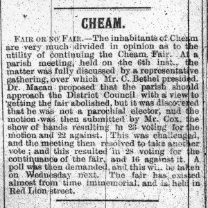 Sutton and Epsom Advertiser 23.2.1906 (Sutton and Epson Advertiser/Sutton Local Studies & Archives)